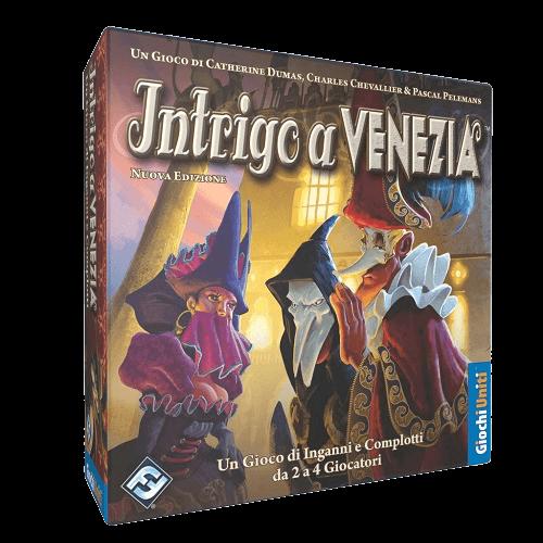 Intrigo a Venezia immagine scatola